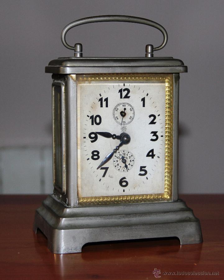 Antiguo reloj de carruaje junghans comprar relojes - Relojes de sobremesa antiguos ...