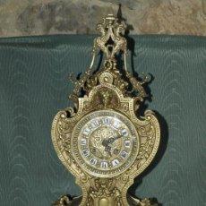 Relojes de carga manual: RELOJ SOBREMESA. BRONCE. MÁQUINA PARÍS. EN MARCHA. SXIX. FRANCIA.. Lote 41788596