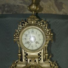 Relojes de carga manual: RELOJ SOBREMESA. BRONCE. MÁQUINA PARÍS. EN MARCHA. SXIX. FRANCIA.. Lote 41788913