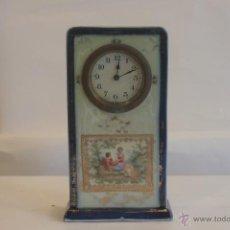 Relojes de carga manual: RELOJ DE PORCELANA. Lote 41990128