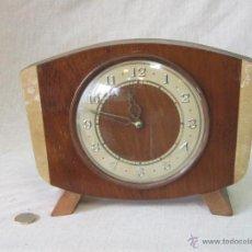Relojes de carga manual: RELOJ DE SOBREMESA CON CUERDA. Lote 42010261
