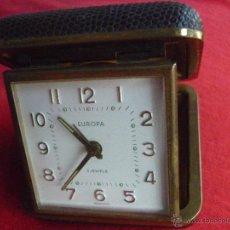 Relojes de carga manual: RELOJ - EUROPA 2 JEWELS - (GERMANY) DE VIAJE - SOBREMESA - CUERDA - FUNCIONANDO - AÑOS 60. Lote 42149642