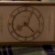 Relojes de carga manual: RELOJ SOBREMESA CARGA MANUAL EBOSA 7 JEWELS SUIZA. Lote 42197363
