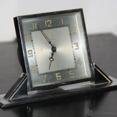 Relojes de carga manual: ANTIGUO RELOJ DE SOBREMESA ART DECO. Lote 42380676