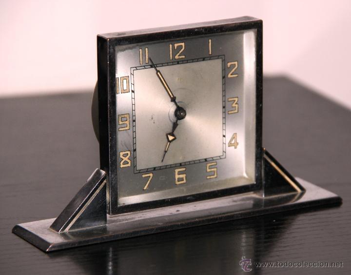 Relojes de carga manual: ANTIGUO RELOJ DE SOBREMESA ART DECO - Foto 2 - 42380676