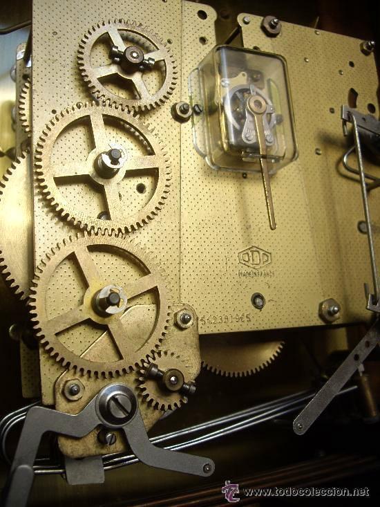 Relojes de carga manual: Antiguo Reloj Frances perfecto estado. - Foto 14 - 29860994