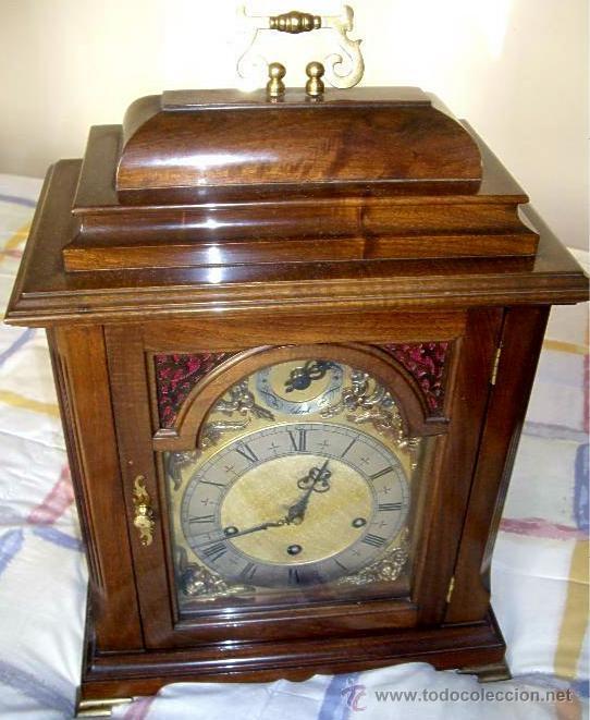 Relojes de carga manual: Antiguo Reloj Frances perfecto estado. - Foto 16 - 29860994