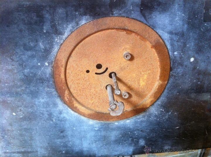 Relojes de carga manual: Precioso y elegante antiguo reloj de mesa estilo art deco años 30 / 40 de marmol - Foto 6 - 43234047