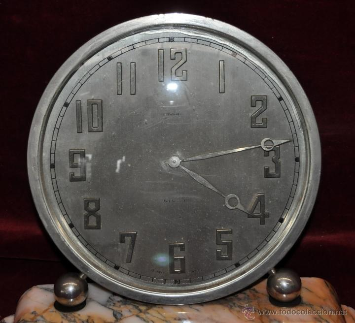 Relojes de carga manual: RELOJ DE SOBREMESA DUWARD. ÉPOCA ART DECO - Foto 3 - 43472867