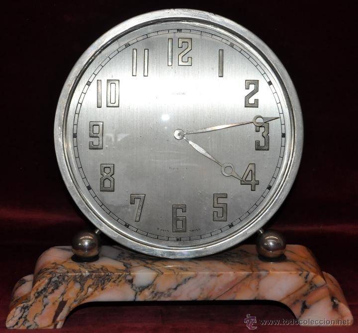 Relojes de carga manual: RELOJ DE SOBREMESA DUWARD. ÉPOCA ART DECO - Foto 14 - 43472867