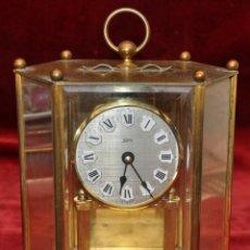 Relojes de carga manual: RELOJ DE SOBREMESA TIPO ESPIRAL DE MANUFACTURA ALEMANA DE LA MARCA KOMA. Lote 43585622