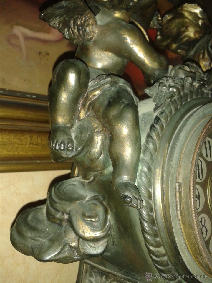 Relojes de carga manual: RELOJ FRANCES CALAMINA S.XIX LOUIS XVI - Foto 2 - 31925129