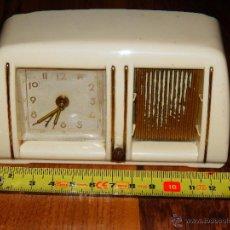Relojes de carga manual: RELOJ DESPERTADOR A CUERDA VINTAGE GEBR. STAIGER MADE IN GERMANY FUNCIONANDO FOTOS Y DESCRIPCION W. Lote 44012292