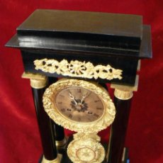 Relojes de carga manual: RELOJ PENDULO SIGLO XIX. Lote 44210906