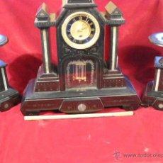 Relojes de carga manual: RELOJ PENDULO DE SOBREMESA. Lote 44211049