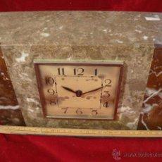 Relojes de carga manual: RELOJ DE MARMOL ESTILO DECO. Lote 44278626