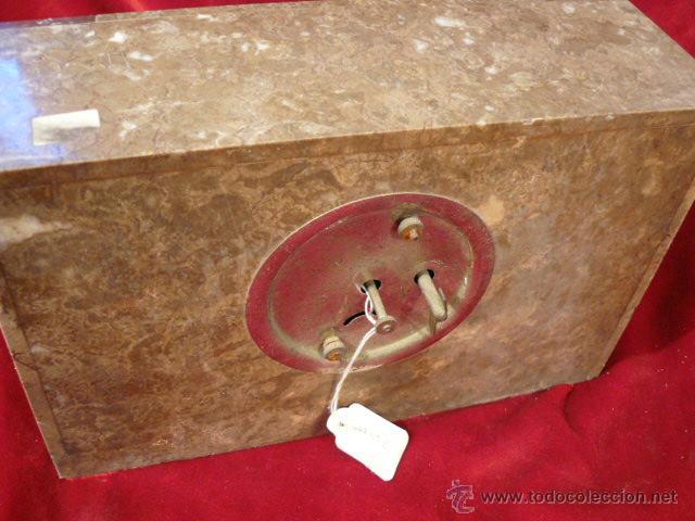 Relojes de carga manual: RELOJ DE MARMOL ESTILO DECO - Foto 5 - 44278626