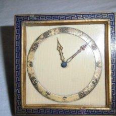 Relojes de carga manual: ANTIGUO RELOJ DE SOBREMESA PARA PIEZAS LEER DESCRIPCION. Lote 44301868