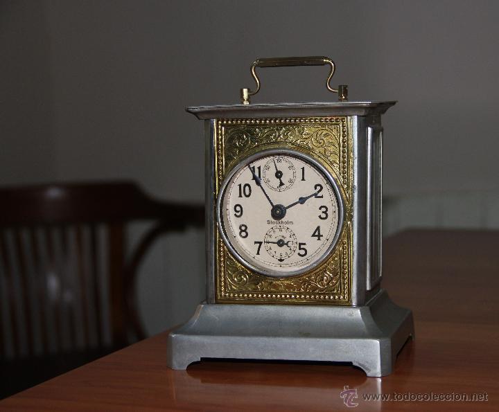 Antiguo reloj de carruaje comprar relojes antiguos de - Relojes de sobremesa antiguos ...