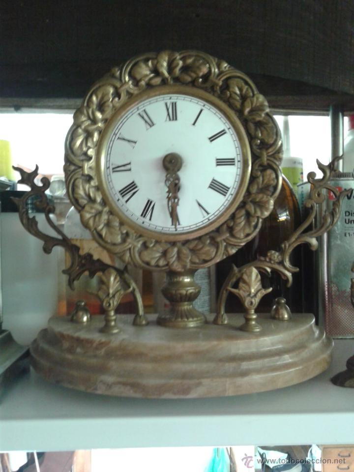 RELOJ BRONCE (Relojes - Sobremesa Carga Manual)
