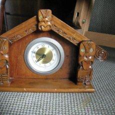 Relojes de carga manual: PEQUEÑO RELOJ ALEMAN DE SOBREMESA. Lote 45182727