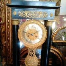 Relojes de carga manual: RELOJ DE SOBREMESA,FRANCIA CARLOS X,SIGLO XIX. Lote 45186778