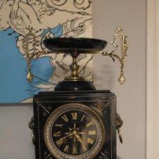 Relojes de carga manual: RELOJ SOBREMESA FRANCÉS ÉPOCA NAPOLEÓN III. Lote 45267437
