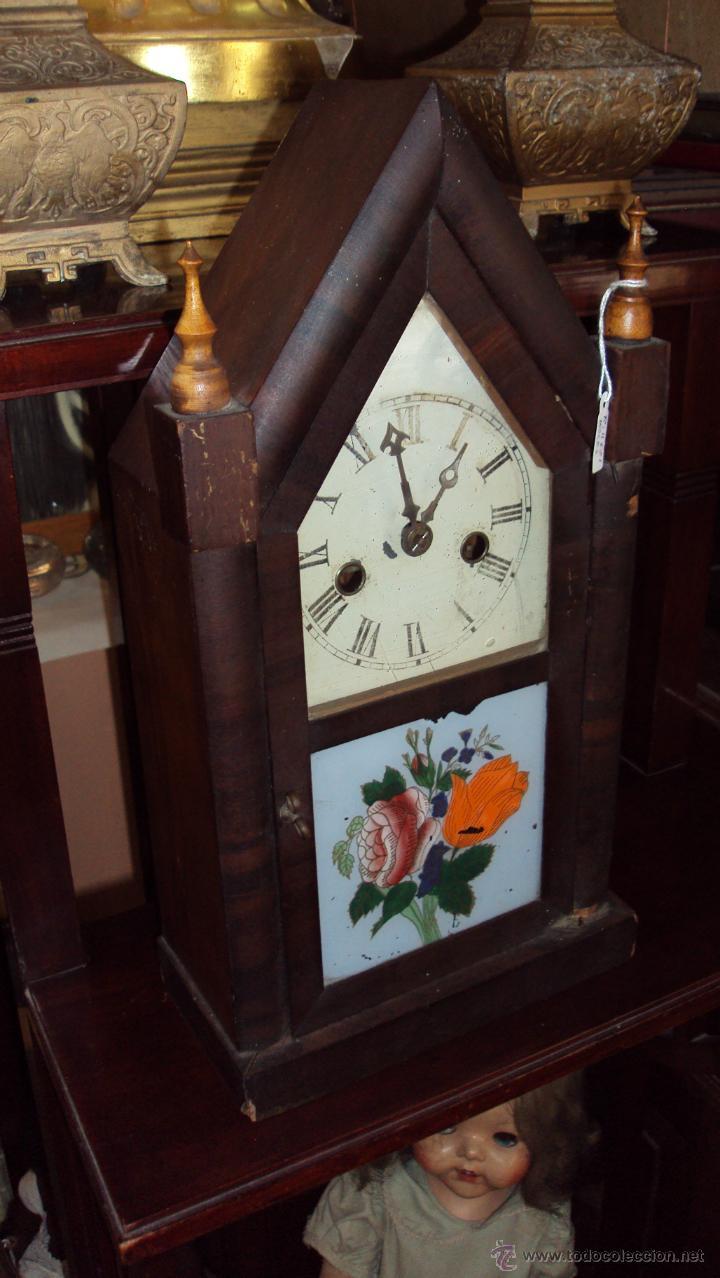 Antiguo Capilla Usa Americano Reloj Welch De OiuPXZk