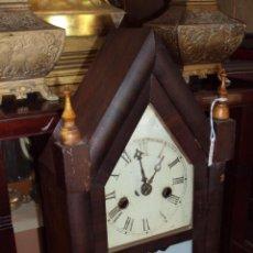 Relojes de carga manual: ANTIGUO RELOJ WELCH DE CAPILLA AMERICANO - USA. Lote 45302324
