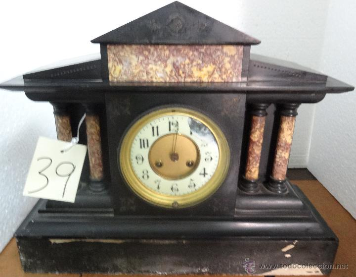 Relojes de carga manual: RELOJ DE SOBREMESA NAPOLEÓN III SIGLO XIX-XX, 6000-039 - Foto 21 - 43445878