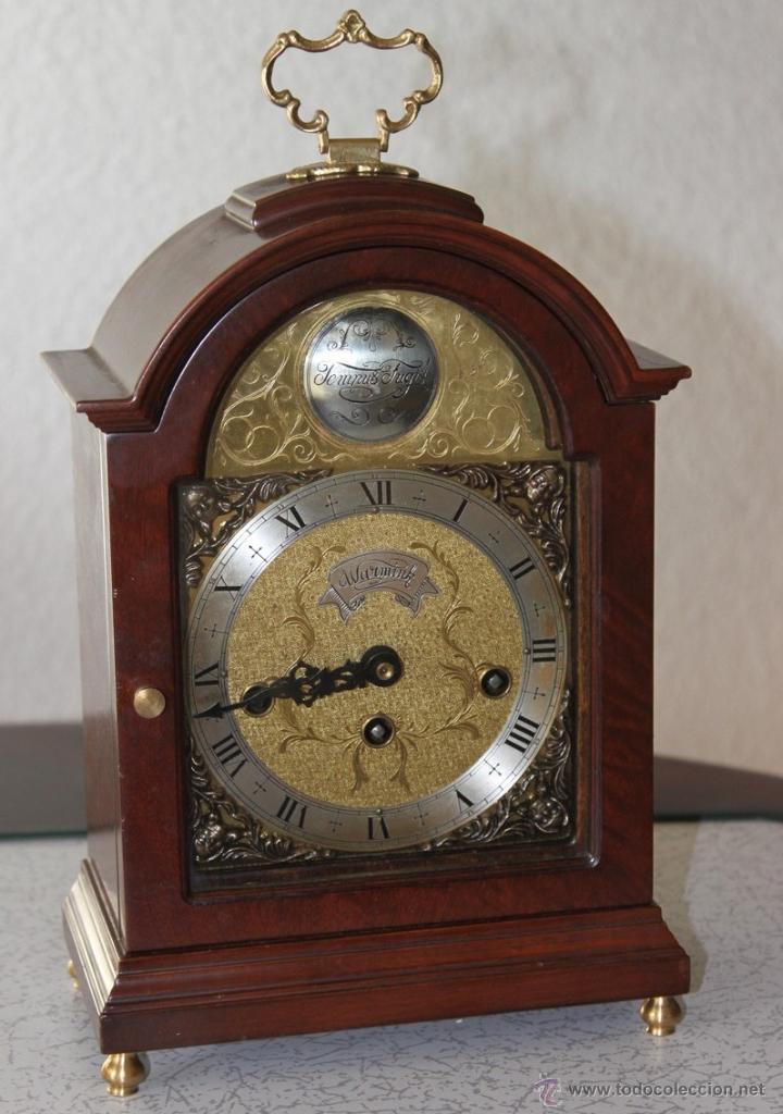 reloj sobremesa con carriljon bracket modelo comprar