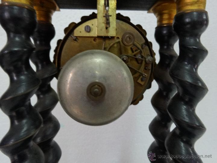 Relojes de carga manual: RELOJ DE PÓRTICO DE SOBREMESA ESTILO NAPOLEÓN III, 6000-154 - Foto 15 - 43451948