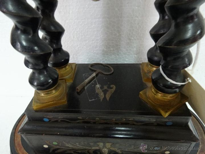 Relojes de carga manual: RELOJ DE PÓRTICO DE SOBREMESA ESTILO NAPOLEÓN III, 6000-154 - Foto 19 - 43451948