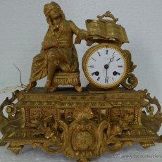 Relojes de carga manual: RELOJ DE SOBREMESA DE ESTILO FRANCÉS SIGLO XIX- 173. Lote 45678485