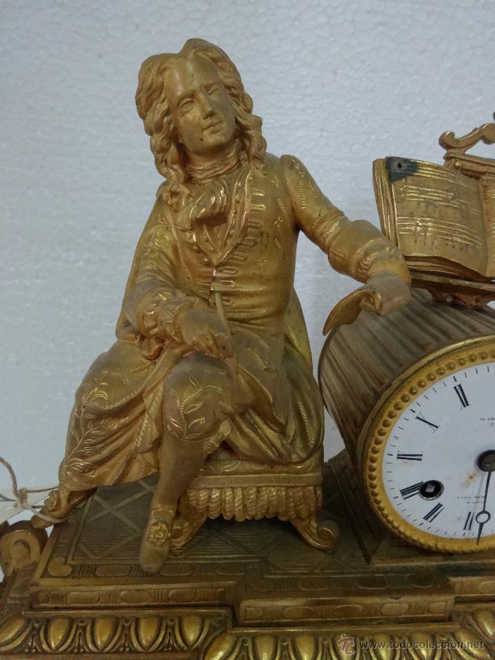 Relojes de carga manual: RELOJ DE SOBREMESA DE ESTILO FRANCÉS SIGLO XIX, 6000-173 - Foto 4 - 45678485
