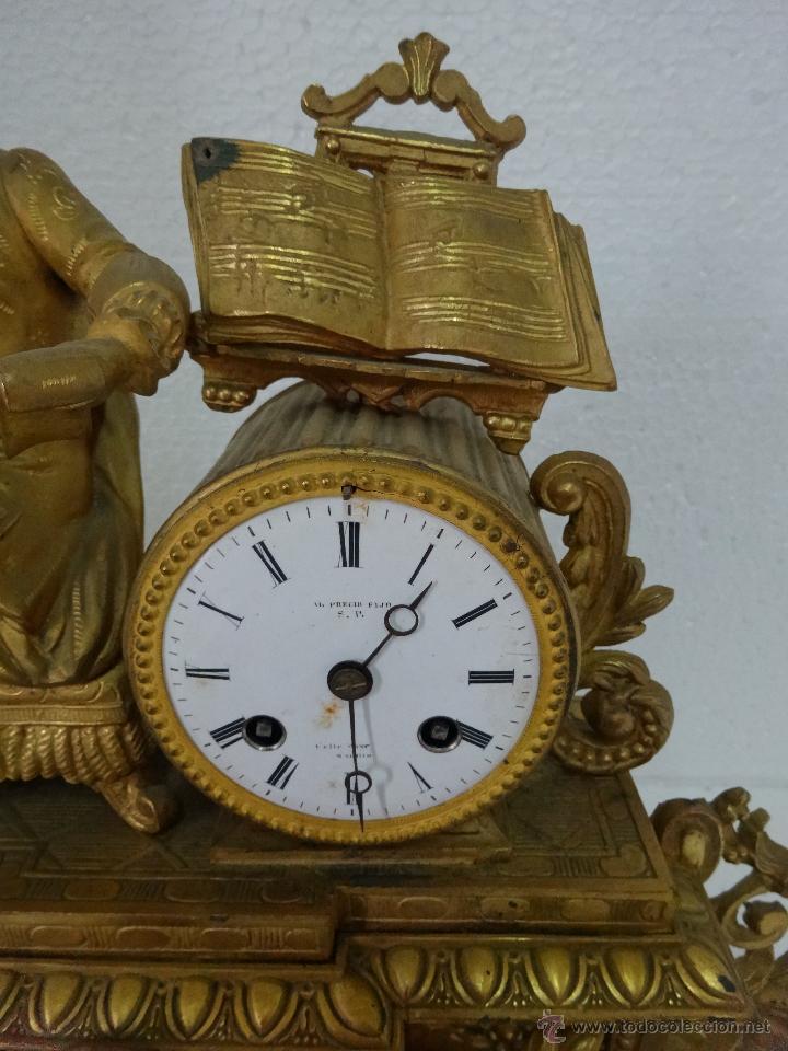 Relojes de carga manual: RELOJ DE SOBREMESA DE ESTILO FRANCÉS SIGLO XIX, 6000-173 - Foto 5 - 45678485