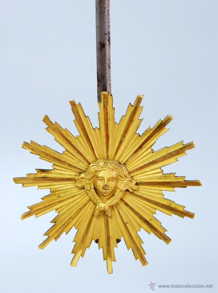 Relojes de carga manual: Reloj Luis XVI mármol blanco y bronce dorado Francia S XVIII Funciona - Foto 6 - 45833521