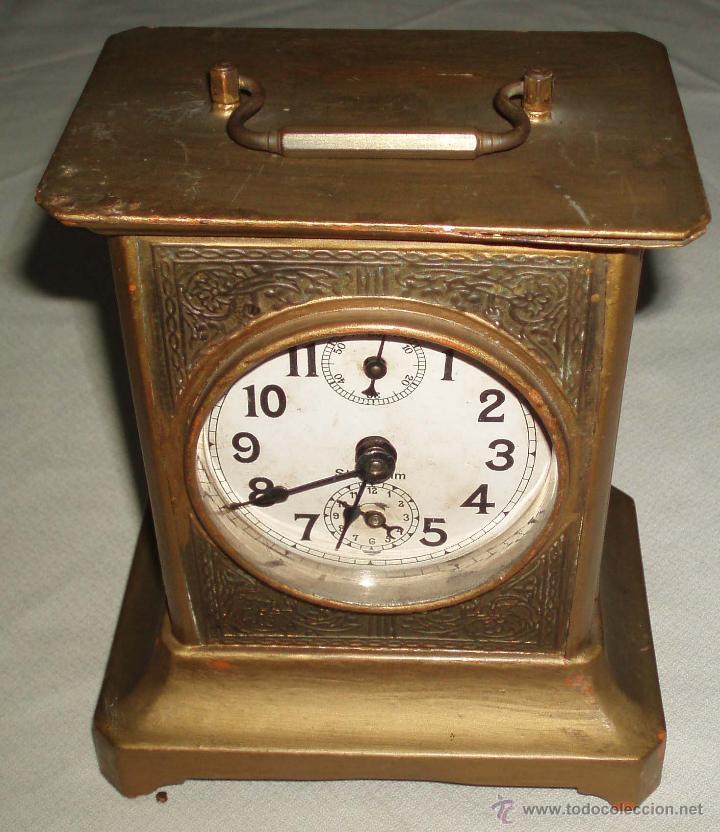 Reloj despertador antiguo de sobremesa comprar relojes - Relojes de sobremesa antiguos ...