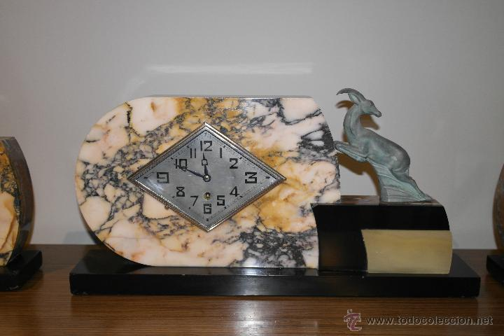 Relojes de carga manual: RELOJ ART DECO CON GUARNICION - Foto 2 - 46595696