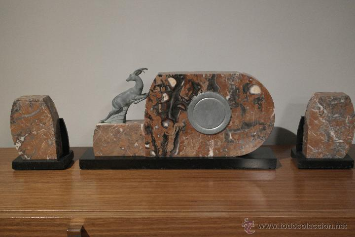 Relojes de carga manual: RELOJ ART DECO CON GUARNICION - Foto 3 - 46595696