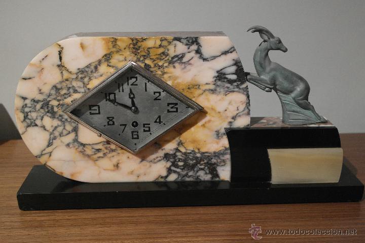 Relojes de carga manual: RELOJ ART DECO CON GUARNICION - Foto 6 - 46595696