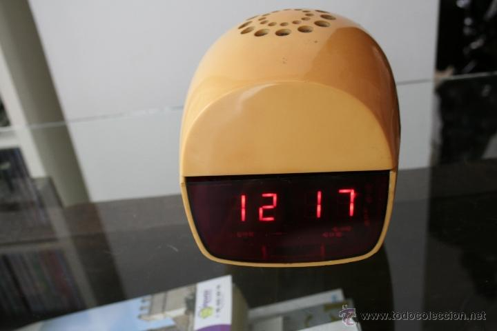 Relojes de carga manual: RARO RELOJ DIGITAL LAMPARA VINTAGE - Foto 3 - 46766889