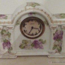 Relojes de carga manual: ANTIGUO RELOJ DE PORCELANA DE VIENA CON MARCAS. Lote 47071998