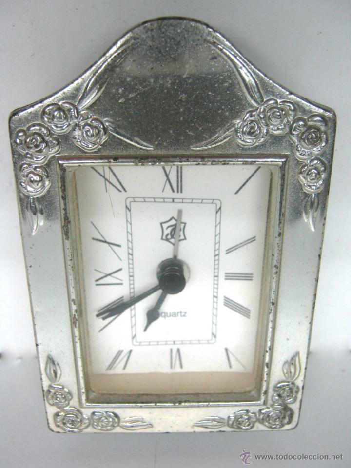 pequeño reloj con marco en plata de ley 925 - Comprar Relojes ...