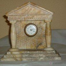 Relógios de carga manual: RELOJ MARMOL O ALABASTRO. Lote 47857790