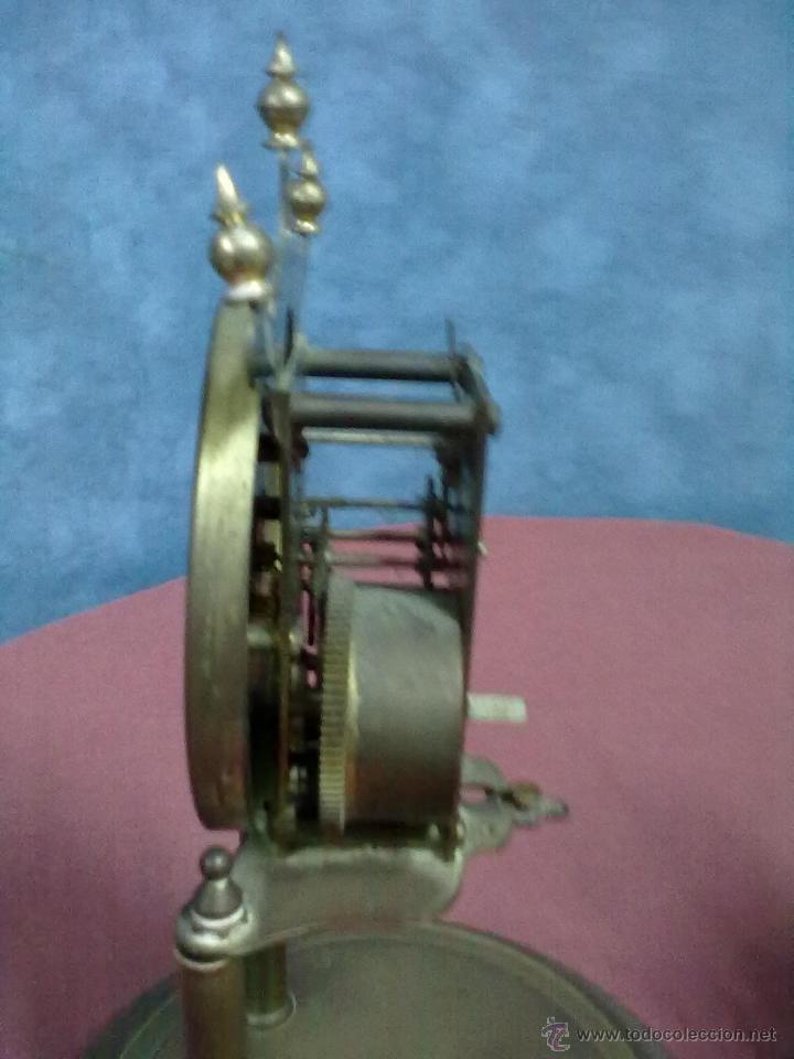 Relojes de carga manual: DOS RELOJES COLUMNAS KUNDO 400 DIAS PARA PIEZAS O RESTAURAR - Foto 3 - 47913796