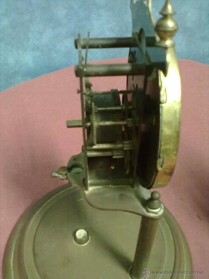 Relojes de carga manual: DOS RELOJES COLUMNAS KUNDO 400 DIAS PARA PIEZAS O RESTAURAR - Foto 5 - 47913796