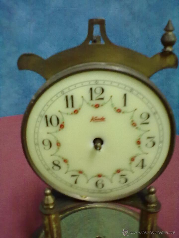 Relojes de carga manual: DOS RELOJES COLUMNAS KUNDO 400 DIAS PARA PIEZAS O RESTAURAR - Foto 7 - 47913796