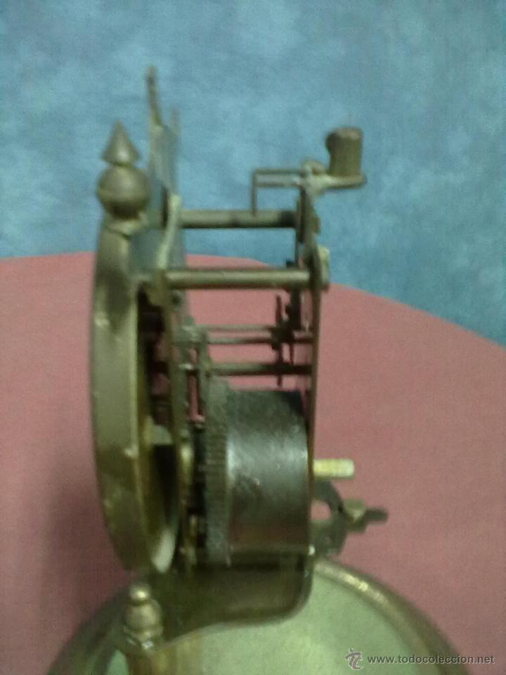 Relojes de carga manual: DOS RELOJES COLUMNAS KUNDO 400 DIAS PARA PIEZAS O RESTAURAR - Foto 8 - 47913796