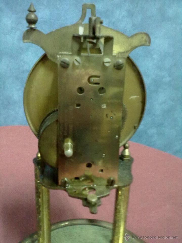 Relojes de carga manual: DOS RELOJES COLUMNAS KUNDO 400 DIAS PARA PIEZAS O RESTAURAR - Foto 9 - 47913796